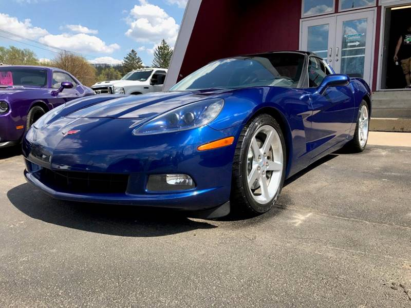 2005 Chevrolet Corvette for sale at Pop's Automotive in Homer NY