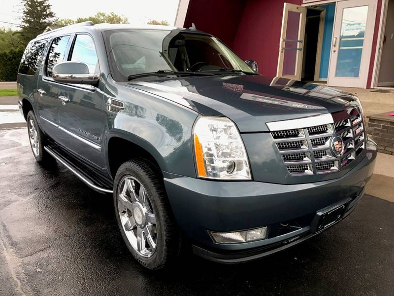2008 Cadillac Escalade ESV for sale at Pop's Automotive in Homer NY