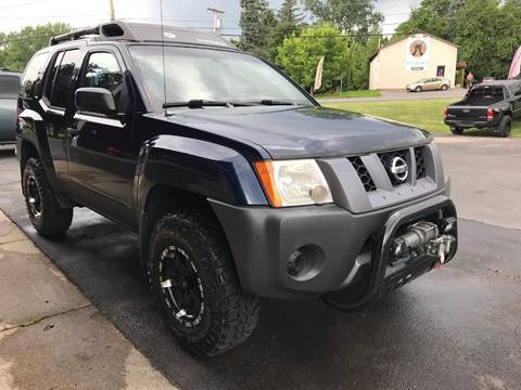 2007 Nissan Xterra for sale at Pop's Automotive in Homer NY