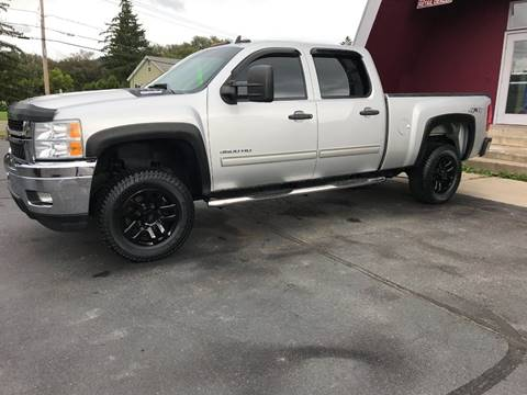 2011 Chevrolet Silverado 3500HD for sale at Pop's Automotive in Homer NY
