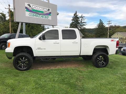 2008 GMC Sierra 2500HD for sale at Pop's Automotive in Homer NY