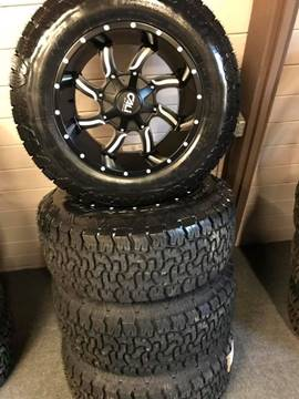Cali 6Lug Ford Chevy AMP A/T P Twisted 20x12 -44 for sale at Pop's Automotive in Homer NY