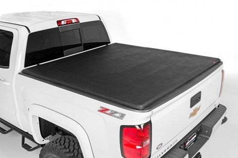 Rough Country Soft Tri-Fold Tonneau Cover for sale in Homer, NY