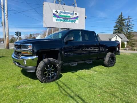 2017 Chevrolet Silverado 1500 for sale at Pop's Automotive in Homer NY