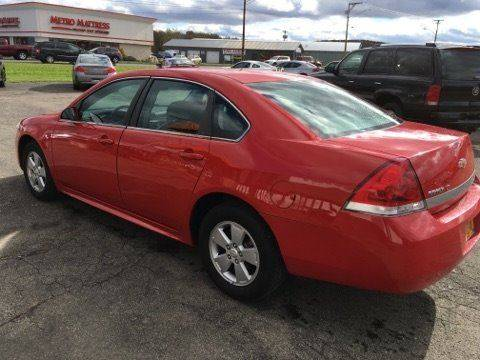 2010 Chevrolet Impala for sale at Pop's Automotive in Cortland NY