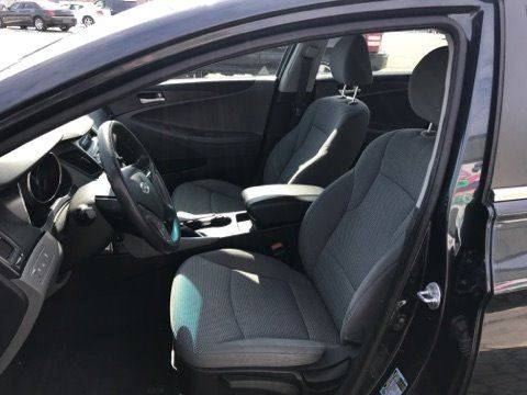 2013 Hyundai Sonata for sale at Pop's Automotive in Cortland NY