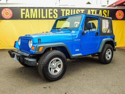 1999 Jeep Wrangler for sale in Portland, OR