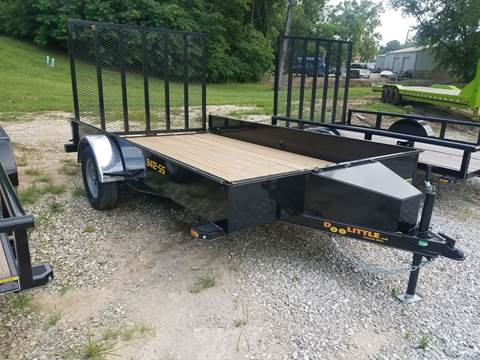 2019 Doolittle 84x12 Utility Solid Side for sale in Paris, MO