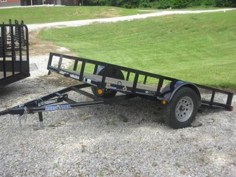 2016 Load Trail 77x12 single axle tilt for sale in Paris, MO