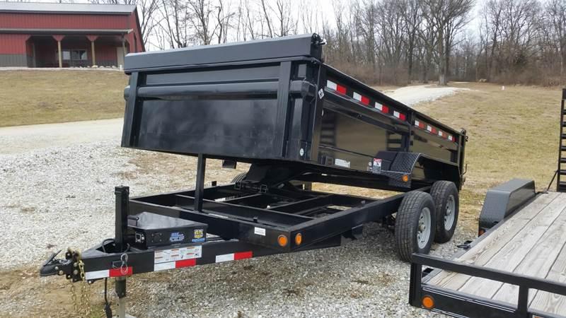 2016 Load Trail 83x14ft 14,000lb dump trailer  - Paris MO