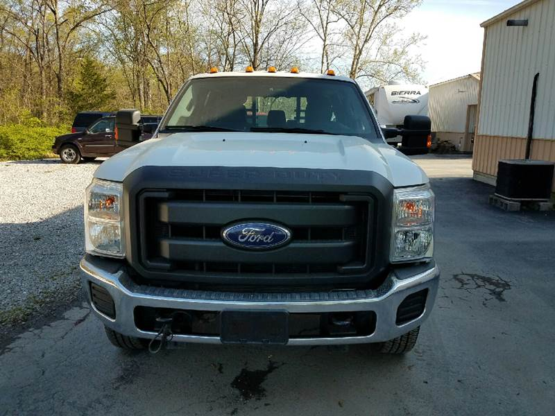2014 Ford F-350 Super Duty 4x4 XL 4dr Crew Cab 8 ft. LB SRW Pickup - Paris MO