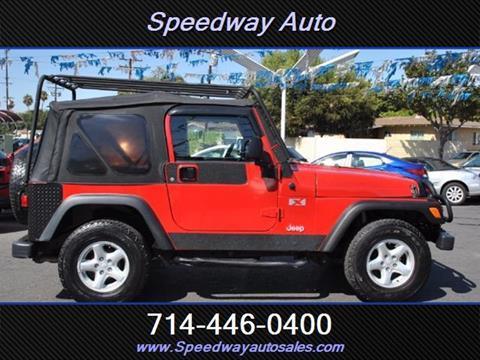 2005 Jeep Wrangler for sale in Fullerton, CA