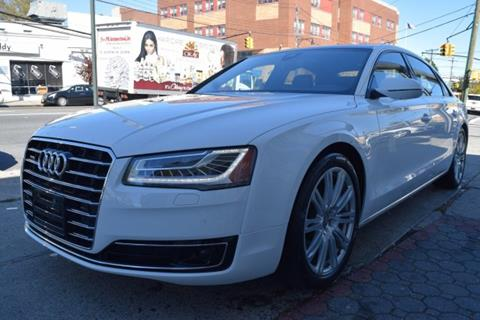 2015 Audi A8 L for sale in Bronx, NY