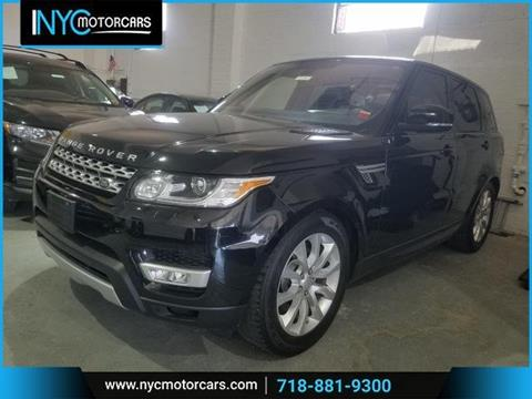 2016 Land Rover Range Rover Sport for sale in Bronx, NY