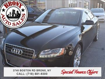 2011 Audi A5 for sale in Bronx, NY