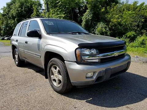 2002 Chevrolet TrailBlazer for sale at Persing Inc in Allentown PA