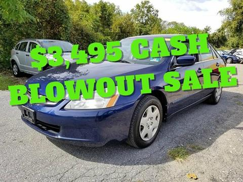 2005 Honda Accord for sale at Persing Inc in Allentown PA