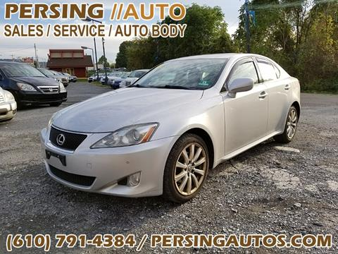 2006 Lexus IS 250 for sale at Persing Inc in Allentown PA