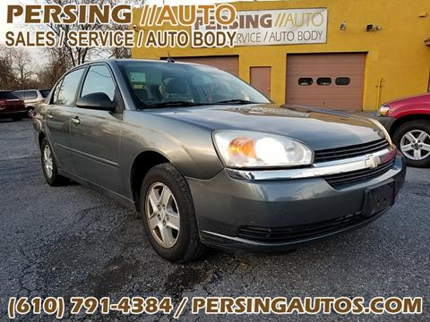 2004 Chevrolet Malibu for sale at Persing Inc in Allentown PA