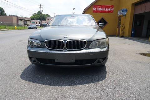 2006 BMW 7 Series for sale at Persing Inc in Allentown PA