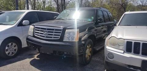 2002 Cadillac Escalade for sale at Persing Inc in Allentown PA