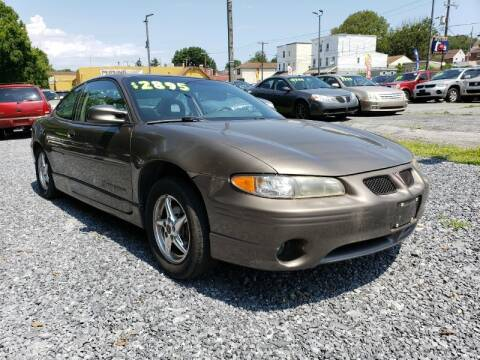 2001 Pontiac Grand Prix for sale at Persing Inc in Allentown PA
