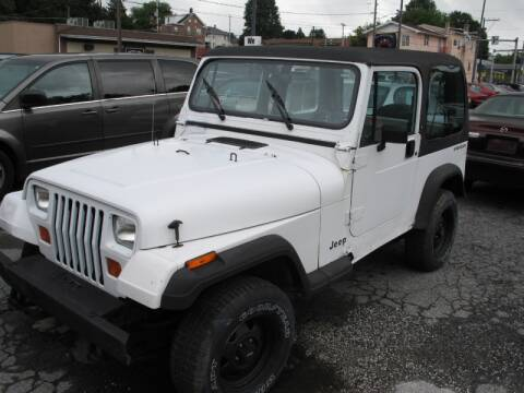 1992 Jeep Wrangler for sale at Persing Inc in Allentown PA