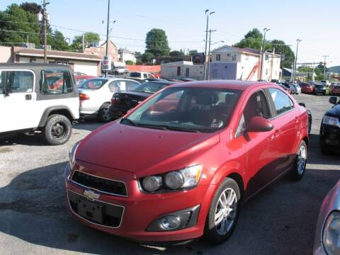 2012 Chevrolet Sonic for sale at Persing Inc in Allentown PA