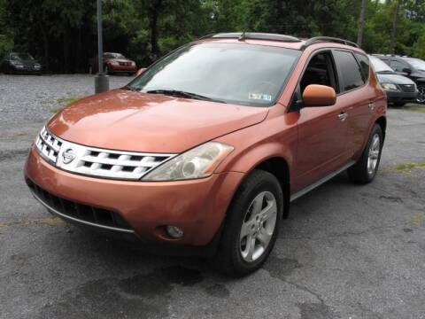 2003 Nissan Murano for sale at Persing Inc in Allentown PA