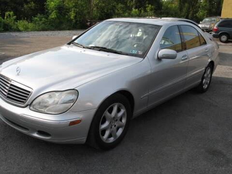 2000 Mercedes-Benz S-Class for sale at Persing Inc in Allentown PA