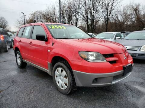 2003 Mitsubishi Outlander for sale at Persing Inc in Allentown PA