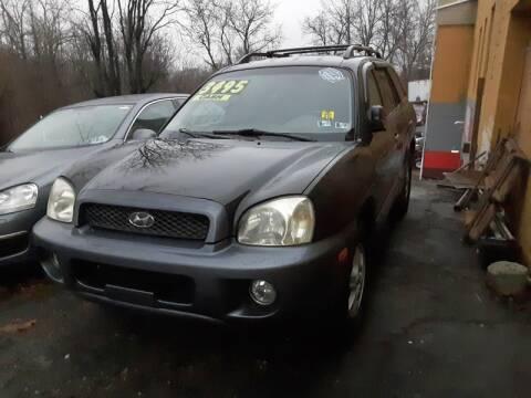 2004 Hyundai Santa Fe for sale at Persing Inc in Allentown PA