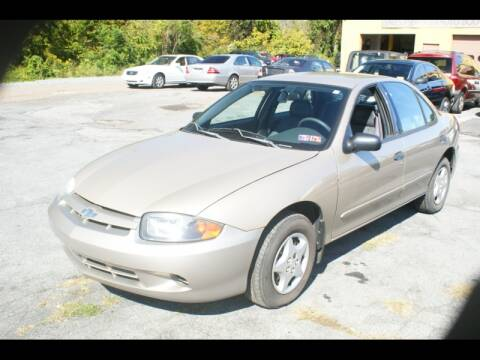 2003 Chevrolet Cavalier for sale at Persing Inc in Allentown PA