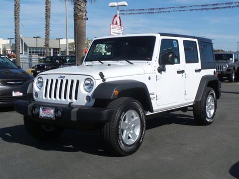 2017 Jeep Wrangler Unlimited for sale in Ventura, CA