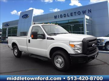 2012 Ford F-250 Super Duty for sale in Middletown, OH