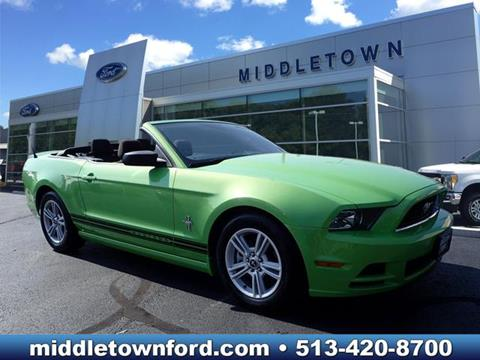 2013 Ford Mustang for sale in Middletown OH