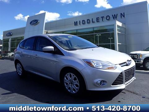 2012 Ford Focus for sale in Middletown OH