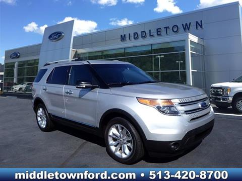 2015 Ford Explorer for sale in Middletown OH