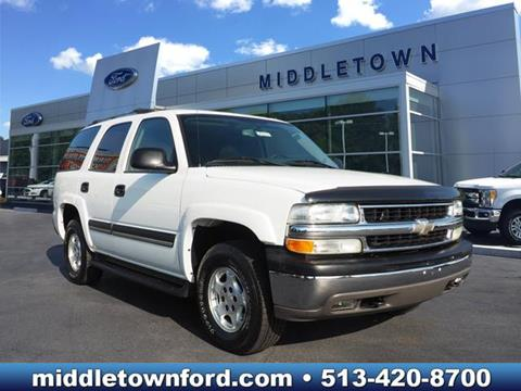 2005 Chevrolet Tahoe for sale in Middletown OH