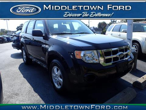 2008 Ford Escape for sale in Middletown, OH