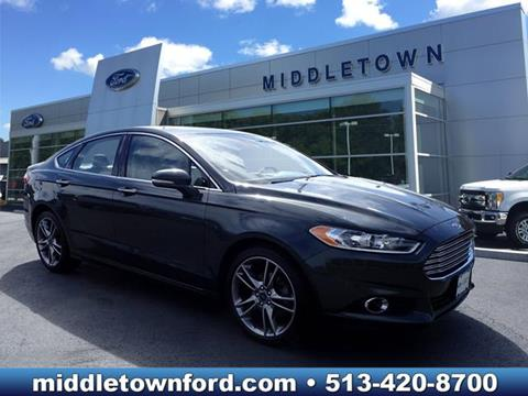 2015 Ford Fusion for sale in Middletown OH