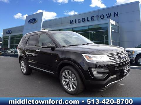 2017 Ford Explorer for sale in Middletown OH