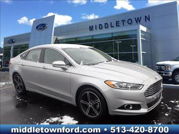 2014 Ford Fusion for sale in Middletown, OH