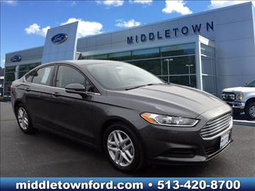 2016 Ford Fusion for sale in Middletown, OH