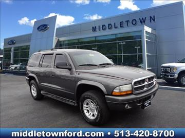 2003 Dodge Durango for sale in Middletown, OH