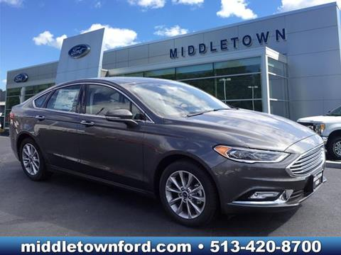 2017 Ford Fusion for sale in Middletown, OH