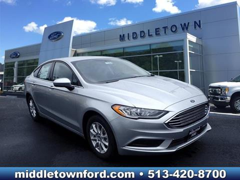 2017 Ford Fusion for sale in Middletown OH