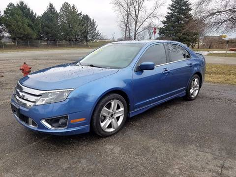 2010 Ford Fusion for sale in Croswell, MI