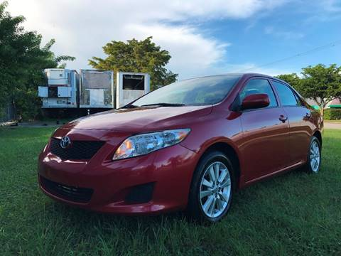 2010 Toyota Corolla for sale in Miami, FL