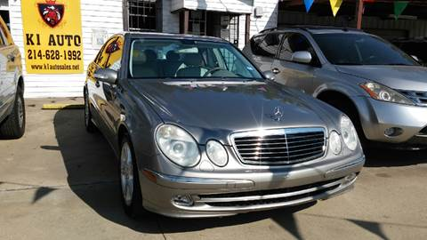 2003 Mercedes-Benz E-Class for sale at K1 Auto in Forest Hill TX